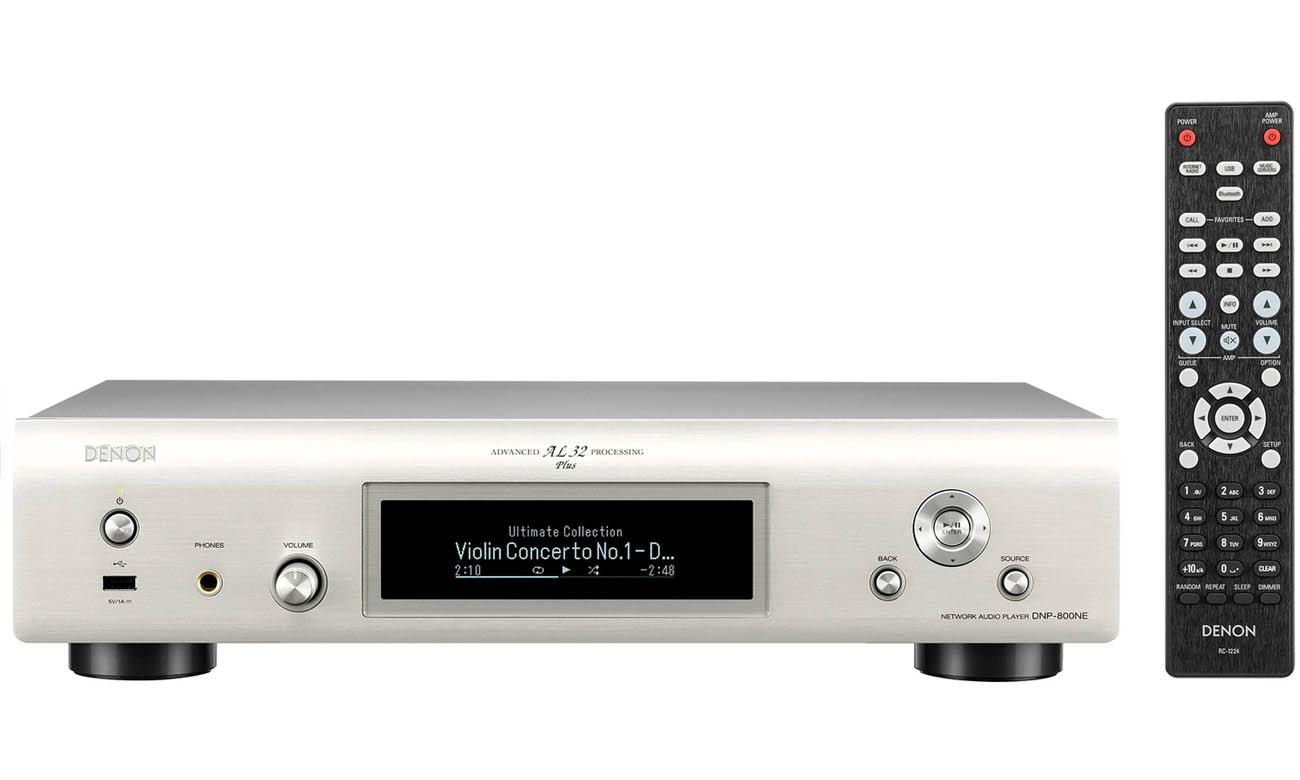 Odtwarzacz Sieciowy Denon DNP-800NE Silver