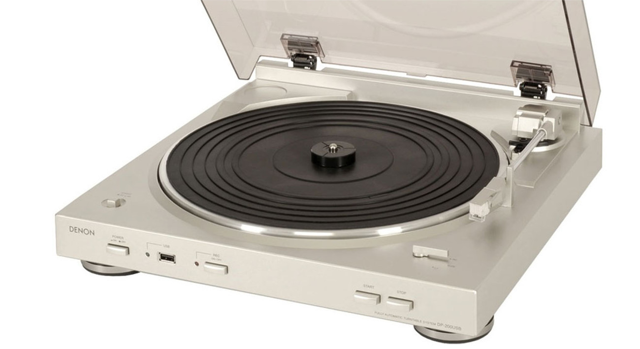 Klasyczny gramofon DP-200USB marki Denon