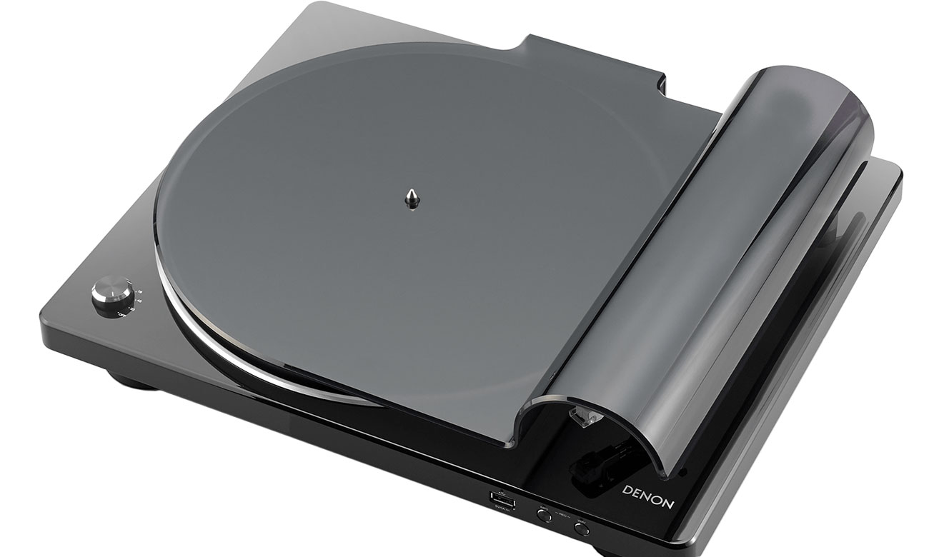 Korektor Phono w gramofonie Denon DP-450USB