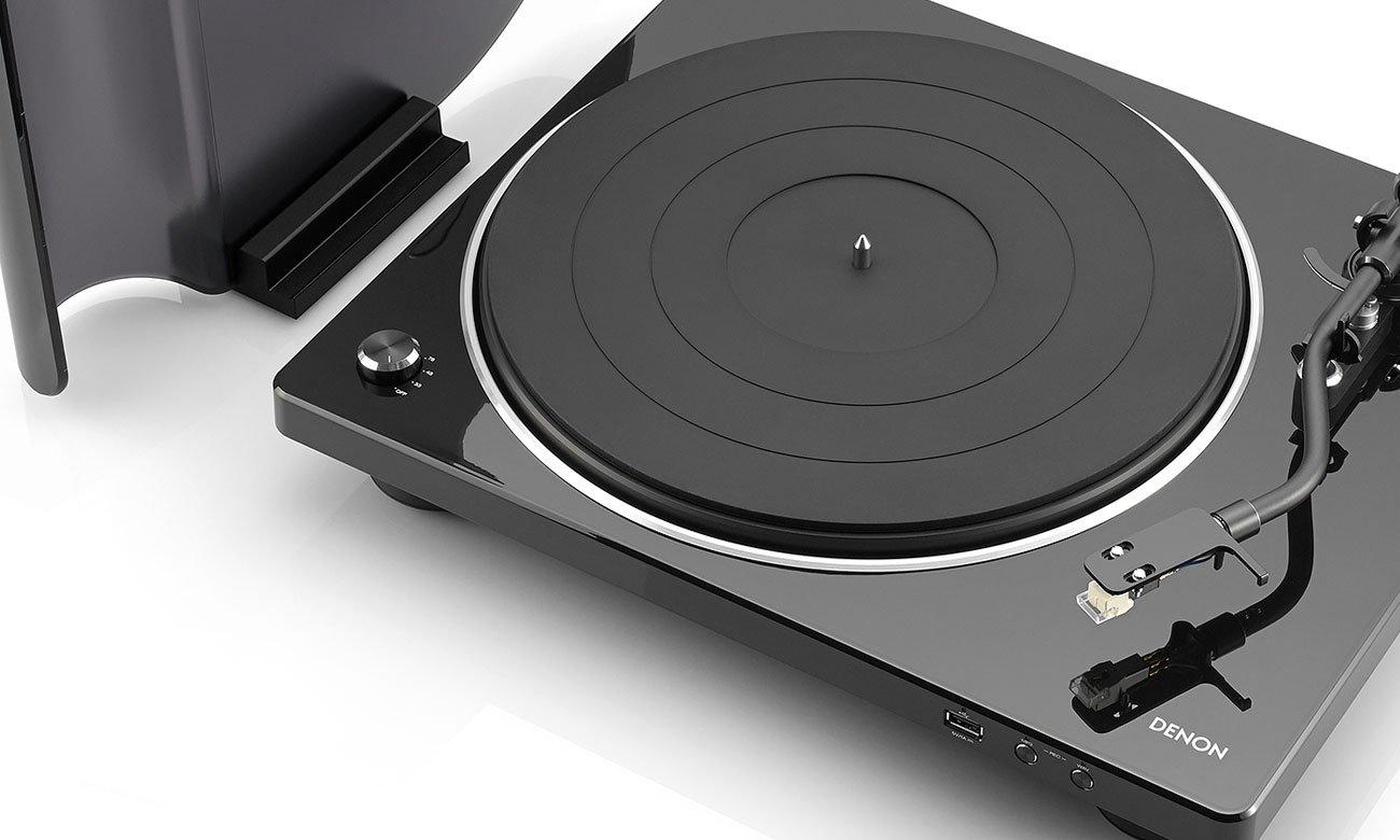Prosty w obsłudze gramofon Denon DP-450USB