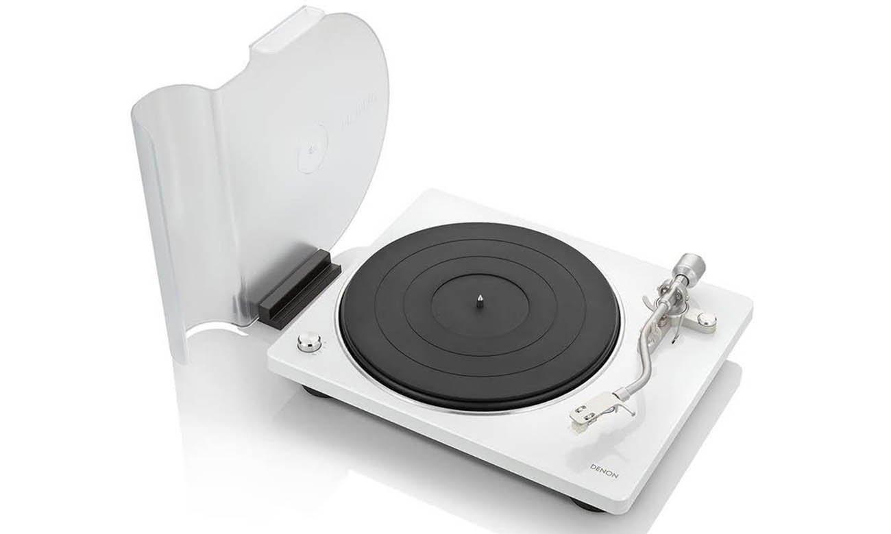 Gramofon Hi-Fi Denon DP-400 Biały