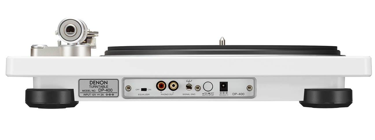 Gramofon Hi-Fi Denon DP-400 White z korektorem Phono