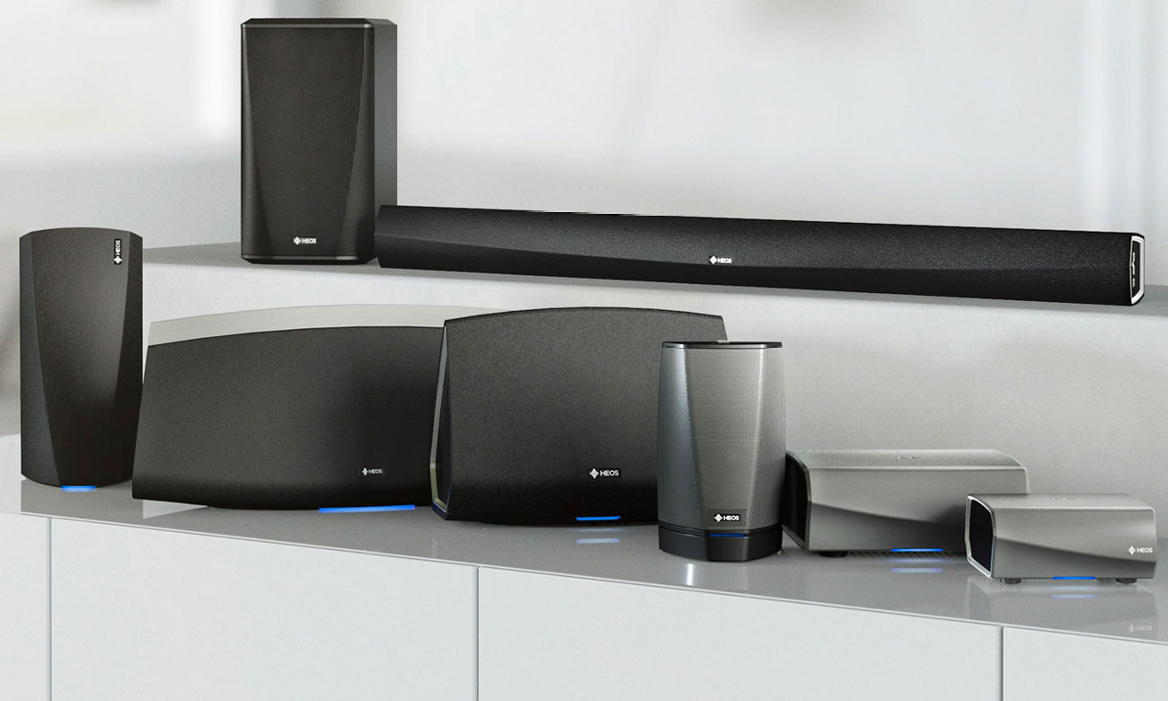 Denon HEOS AMP HS2 wysoka jakość dźwięku