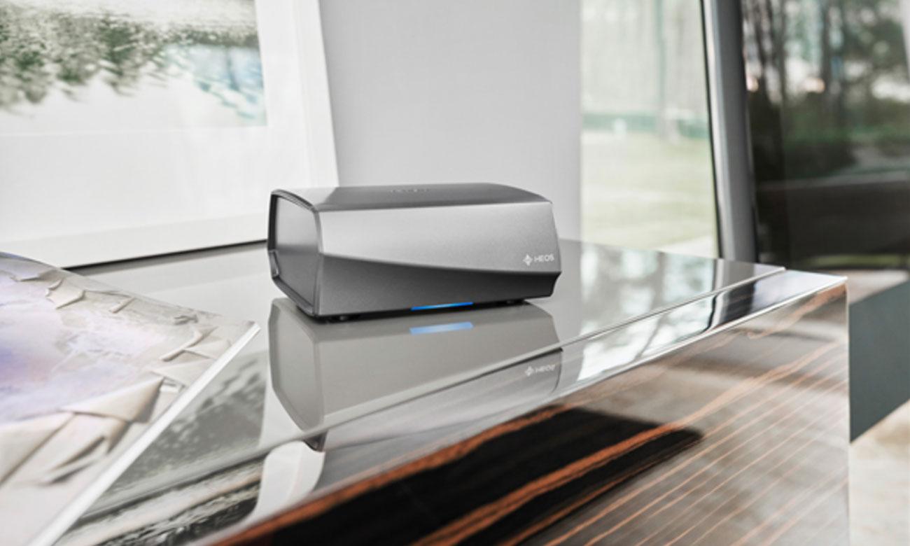 Wzmacniacz dźwięku Denon HEOSAMPHS2SRE2 z łącznością Wi-Fi i Bluetooth