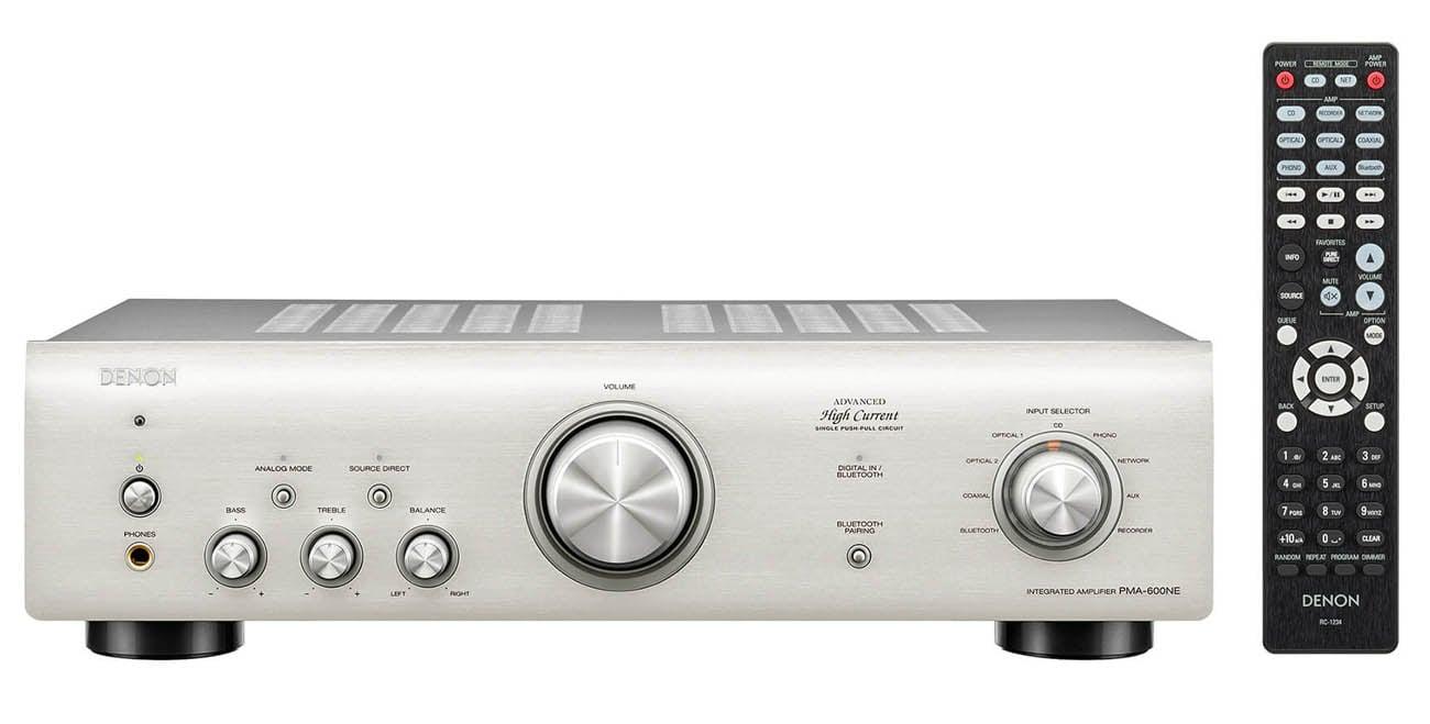 Wzmacniacz zintegrowany Denon PMA-600NE Premium Silver