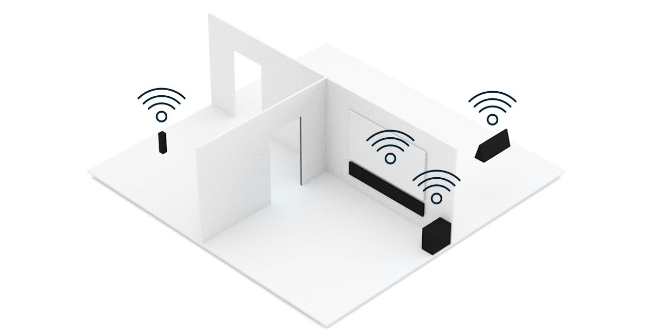 Technologia HEOS Multi Room Denon RCDN-10 Czarny