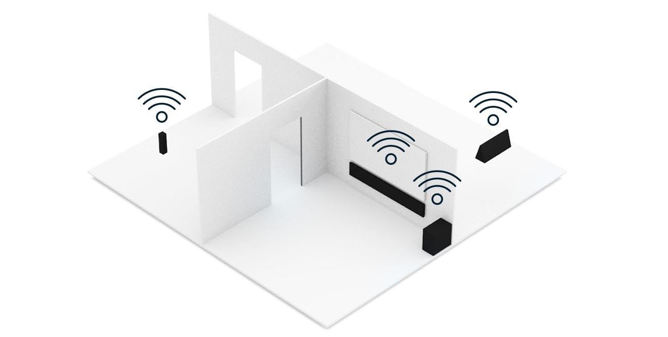 Technologia HEOS Multi Room Denon RCDN-10 Szary