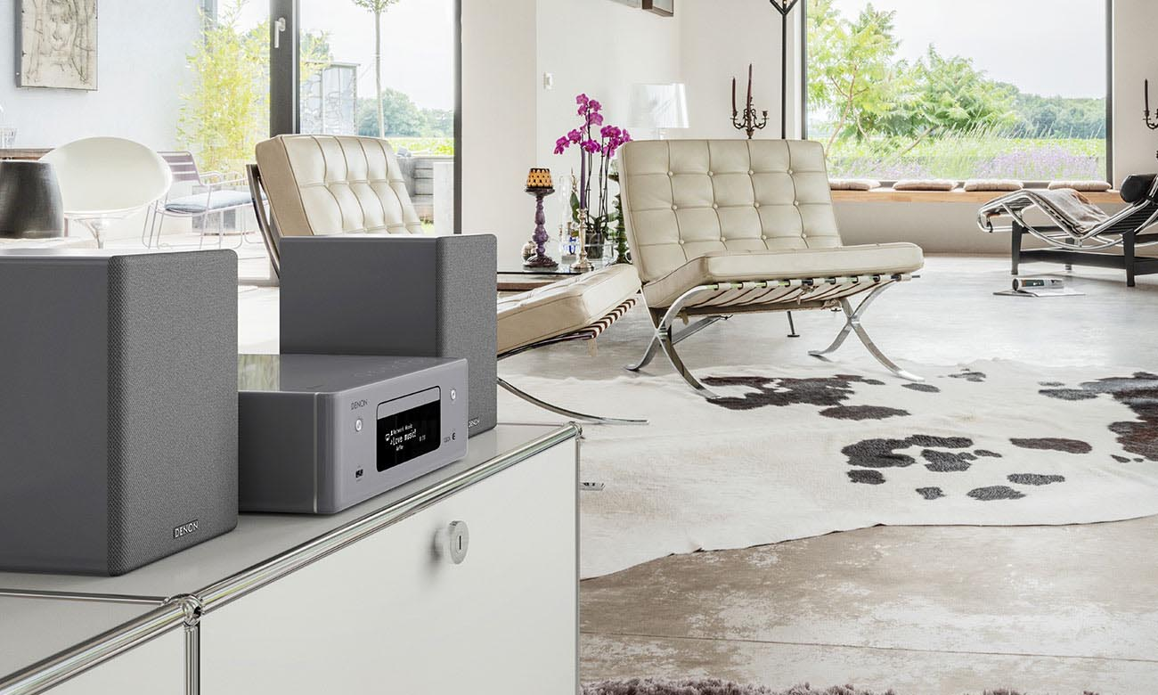 Kolumny stereo Denon SCN-10 szare para