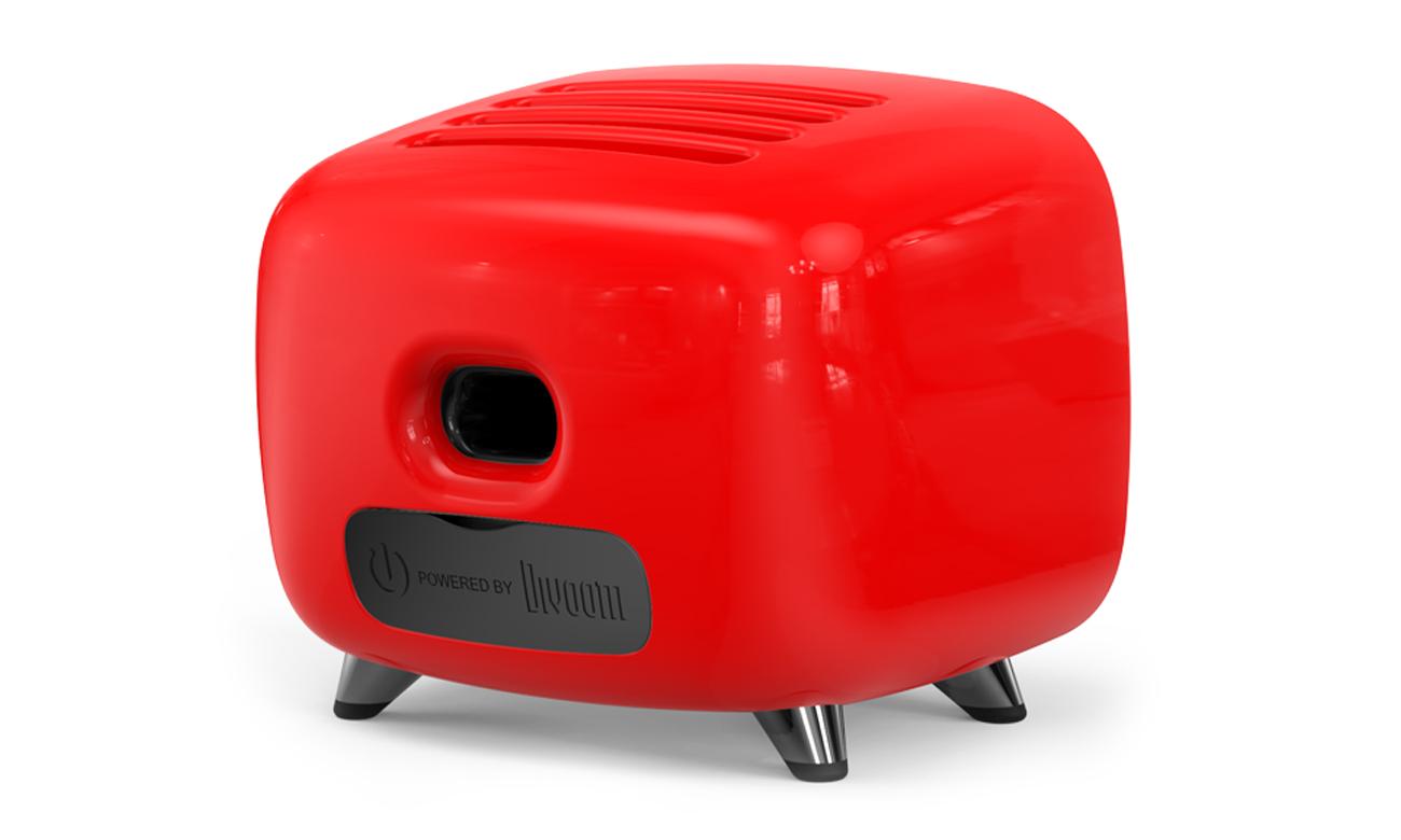 Głośnik bezprzewodowy Divoom Tivoo czerwony