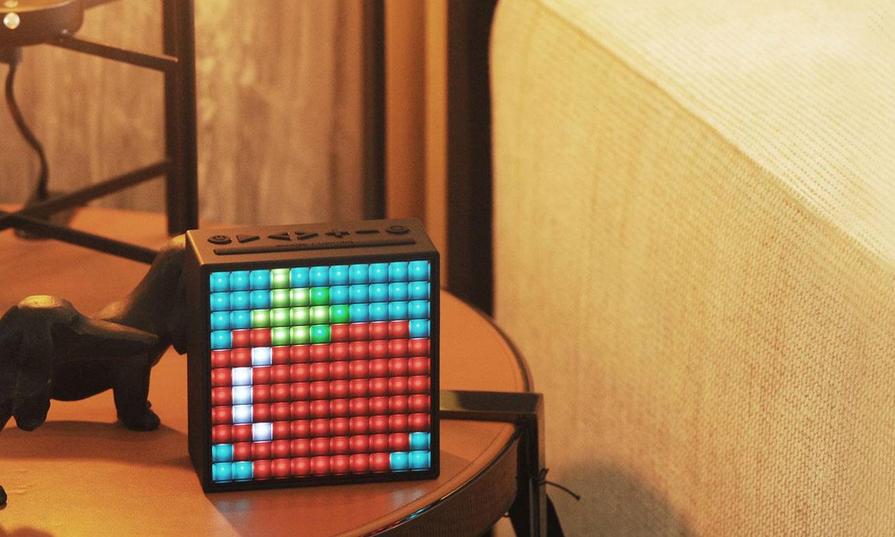 Głośnik bezprzewodowy TimeBox Divoom z panelem LED