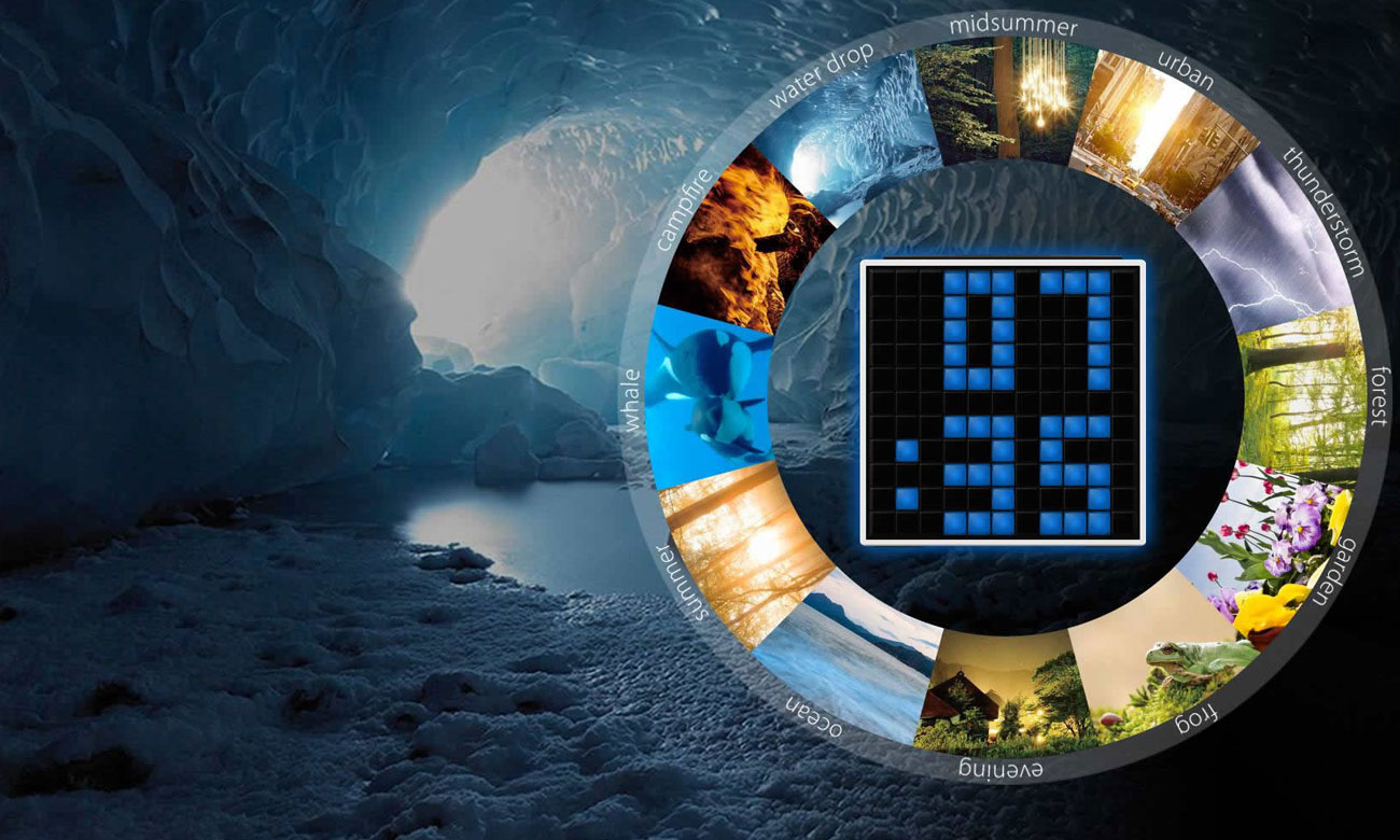 Budzik z alarmem w Divoom TimeBox