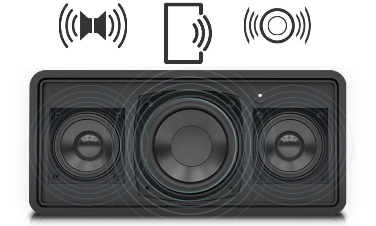 Głośniki w urządzeniu OnBeat 500 2GEN Divoom