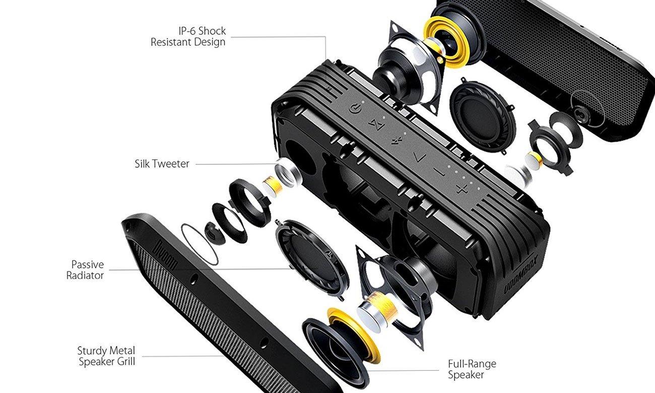 Głośniki w urządzeniu VoomBox POWER Divoom