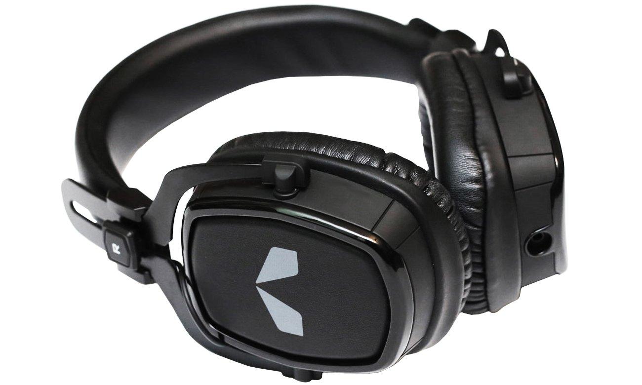 Zamknięta konstrukcja słuchawek Encore RockMaster OE