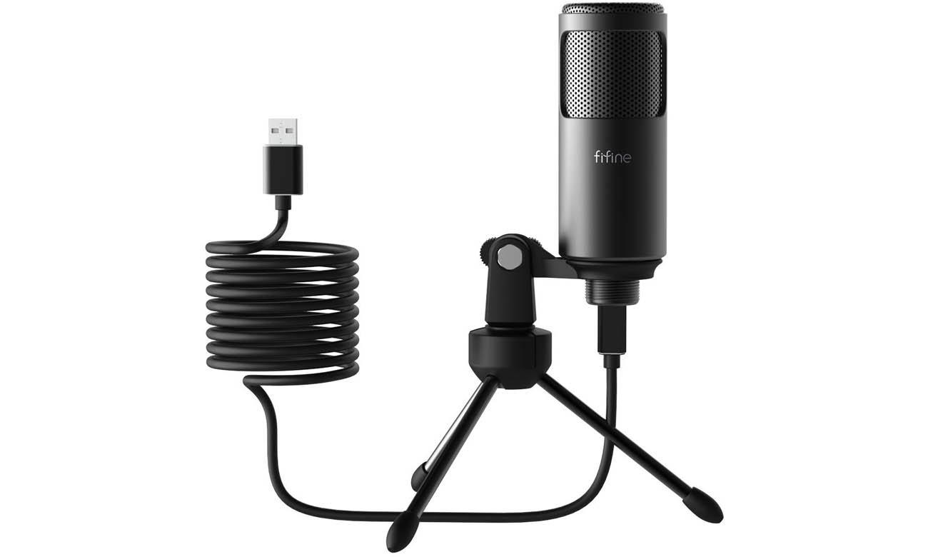 Mikrofon pojemnościowy Fifine F0 USB