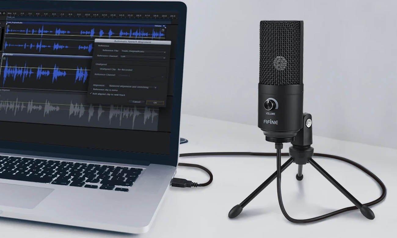 Mikrofon pojemnościowy Fifine K669B USB