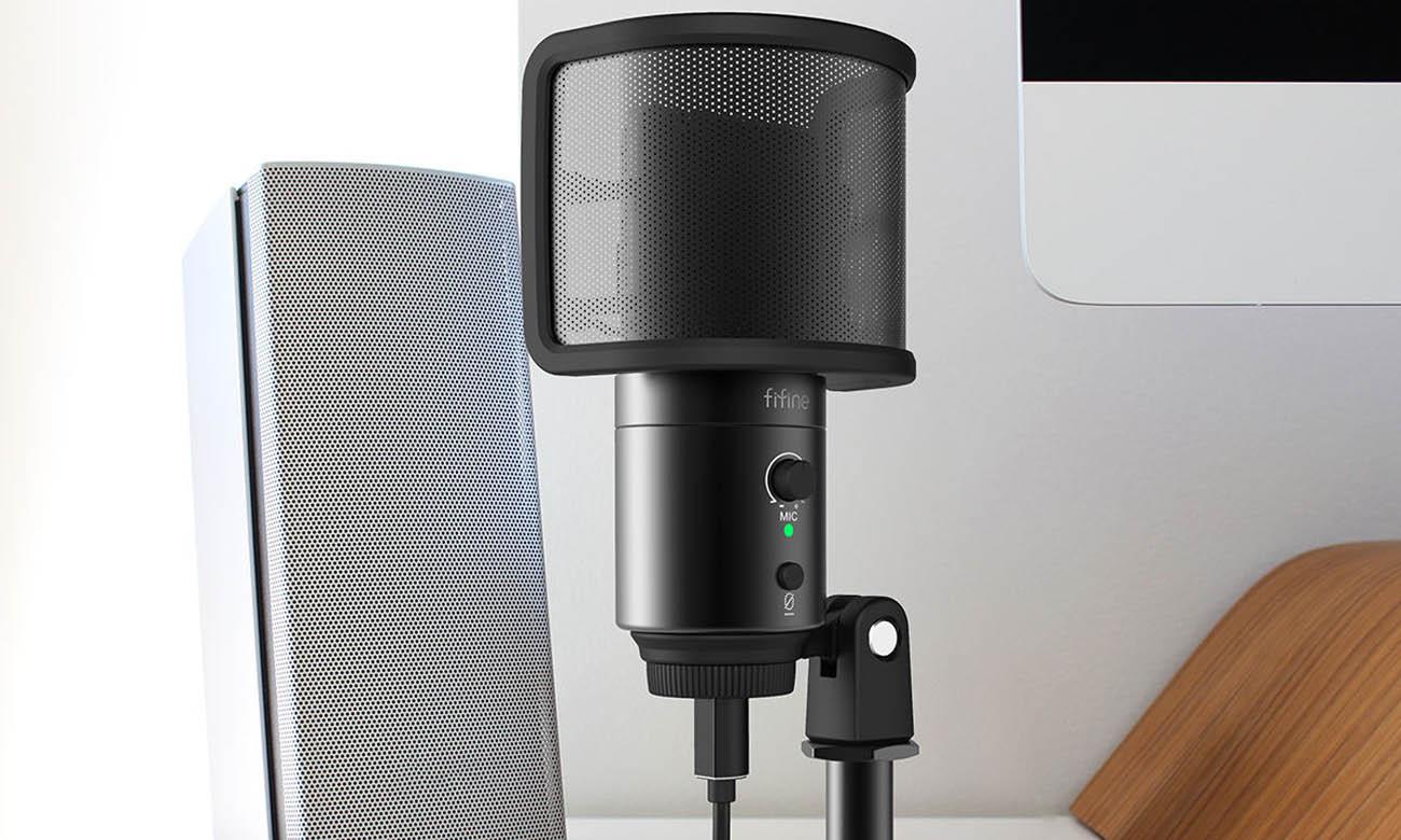 Mikrofon do PS4 Fifine K683B USB