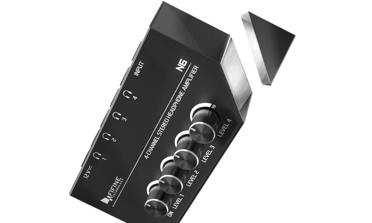Wzmacniacz słuchawkowy 4-portowy Fifine N6
