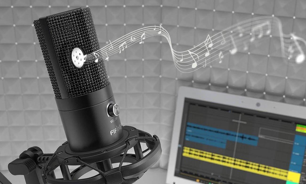 Mikrofon pojemnościowy Fifine T669 USB