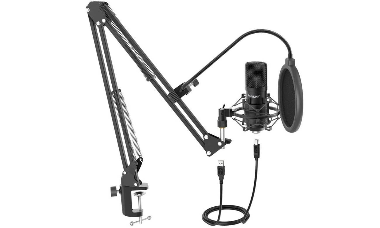Zestaw z mikrofonem pojemnościowym Fifine T730
