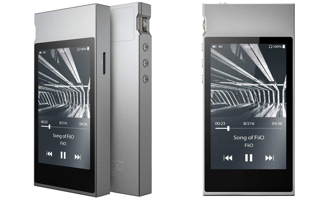 Wysokiej jakości odtwarzacz plików cyfrowych FiiO M7 srebrny