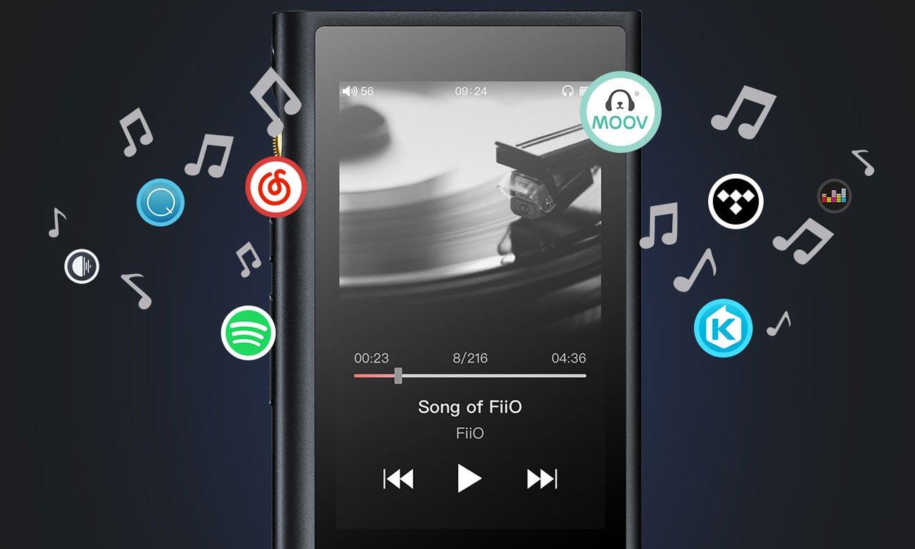 Odtwarzacz przenośny FiiO M9 z Hi-Res Audio