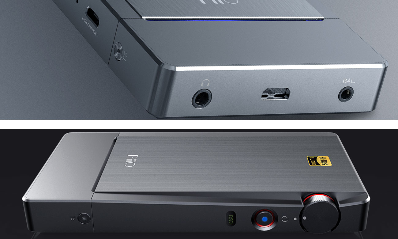 Wzmacniacz FiiO Q5 z łącznością Bluetooth