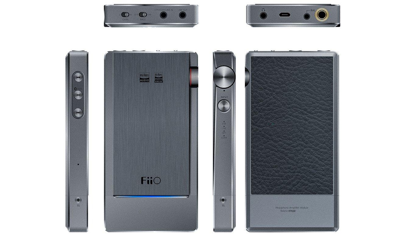 Wzmacniacz FiiO Q5s z łącznością Bluetooth