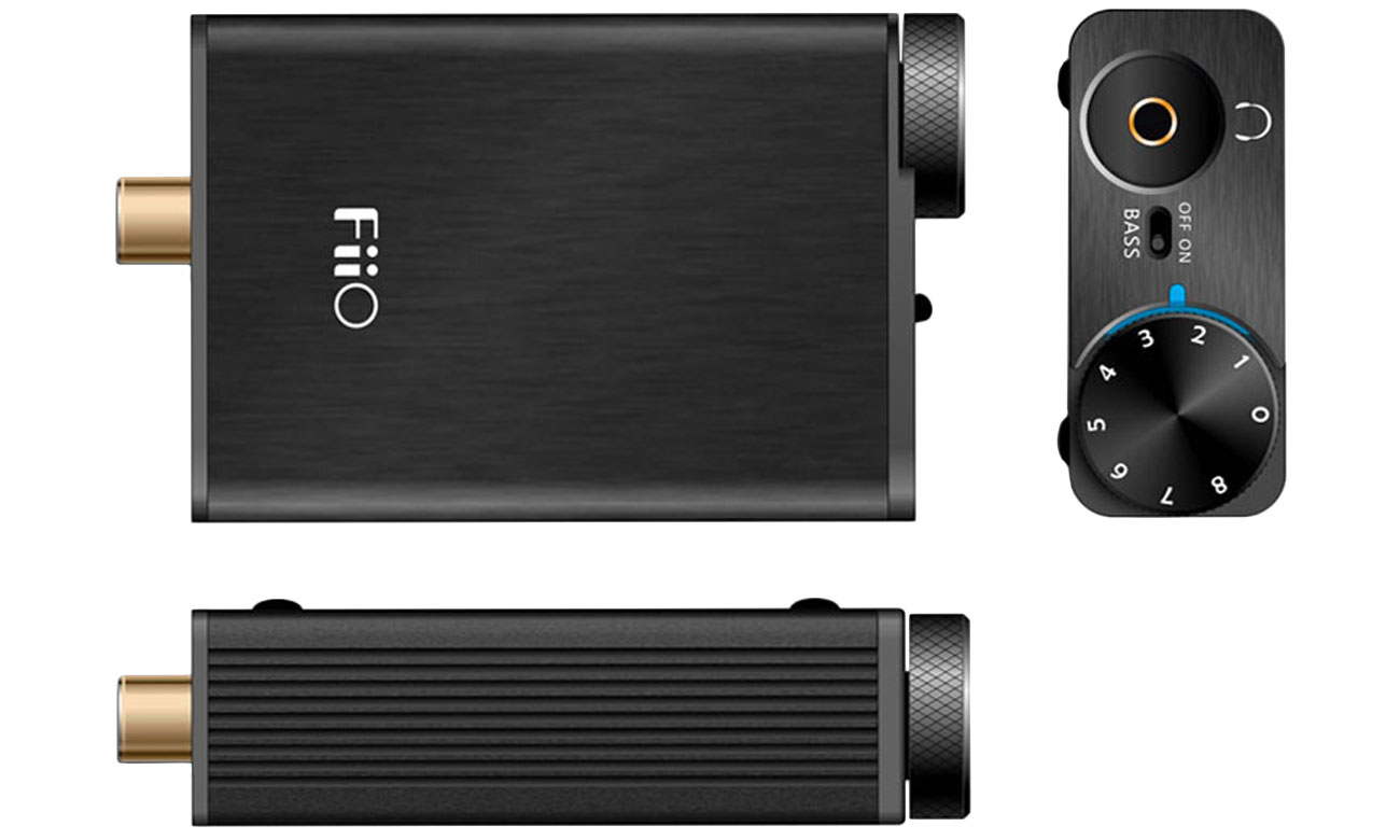 Kompaktowy wzmacniacz DAC FiiO E10K
