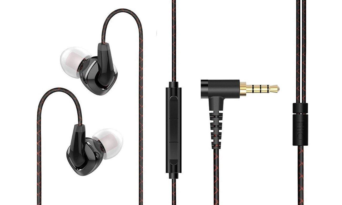 Słuchawki z mikrofonem FiiO F3