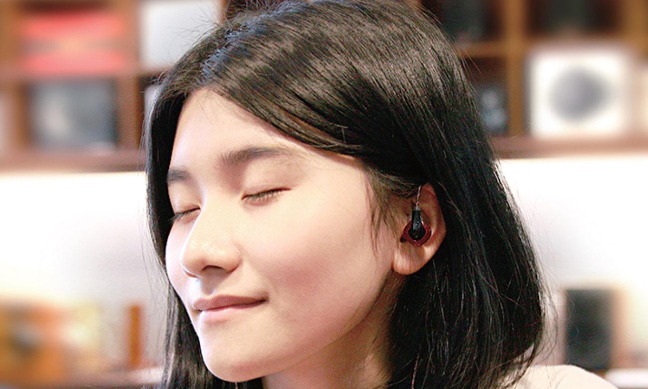 Słuchawki FiiO F3 z wysokiej jakości przetwornikami