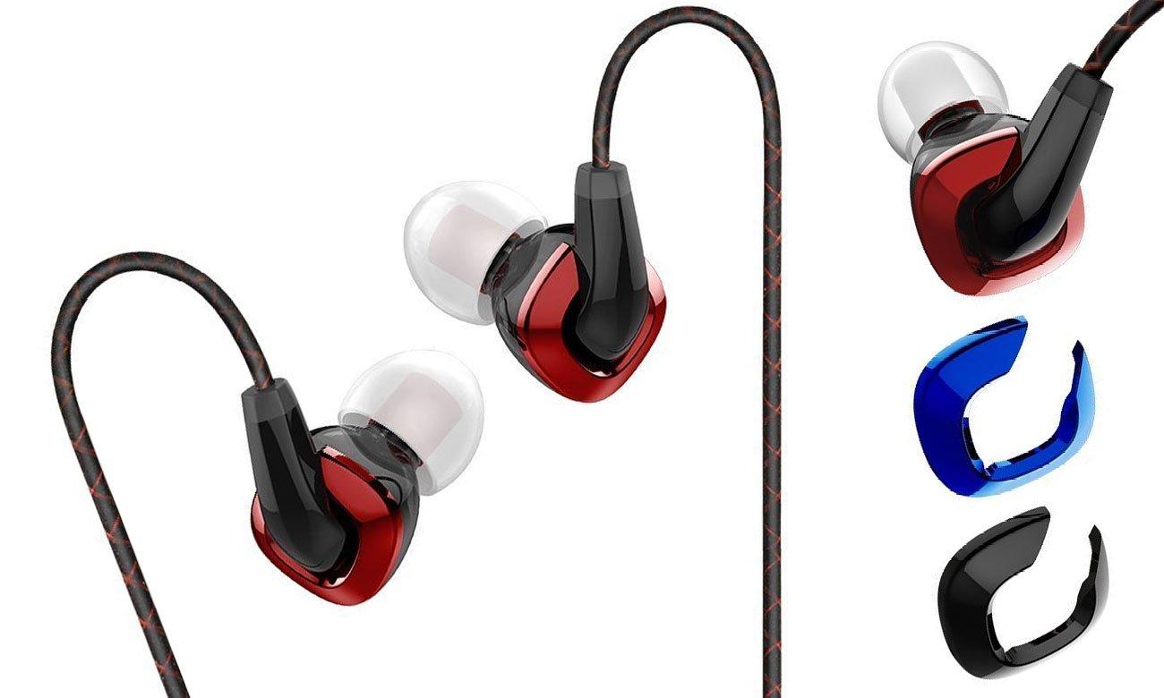Słuchawki FiiO F3 czarne idealnie dopasowane