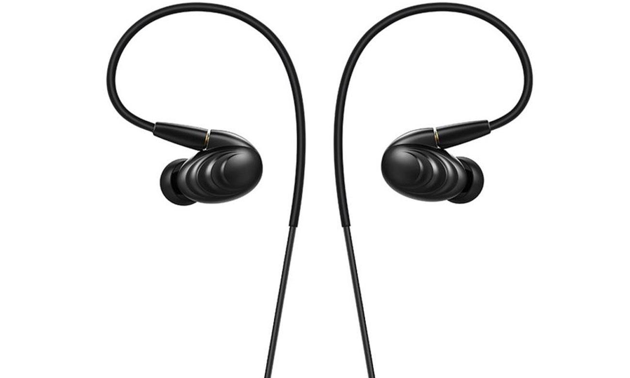 Słuchawki dokanałowe FiiO F9BLK czarne idealnie dopasowane
