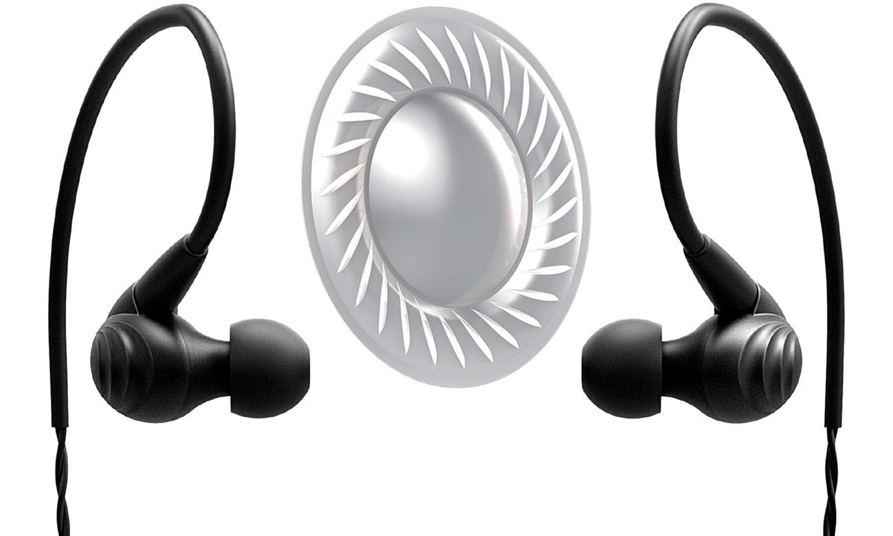 Słuchawki dokanałowe z odpinanym kablem FiiO F9BLK
