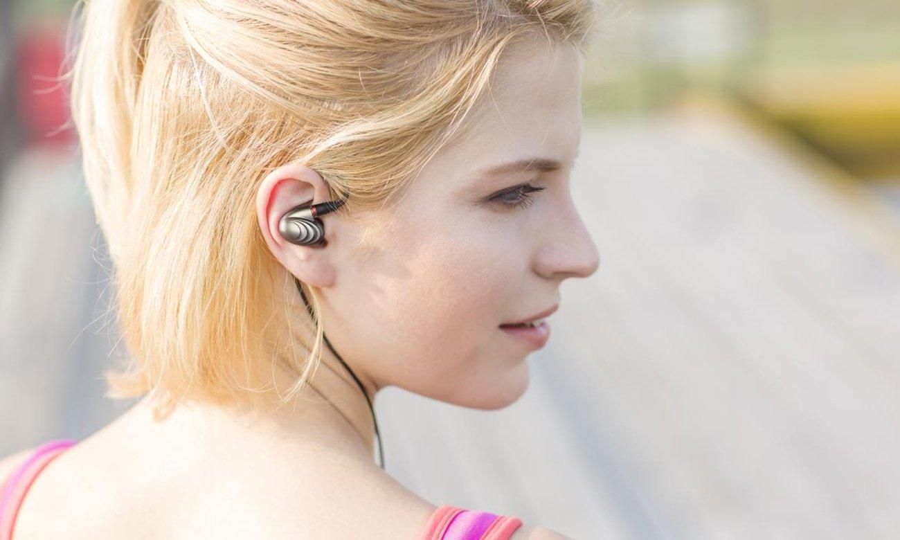 Słuchawki dokanałowe z odpinanym kablem FiiO F9PRO