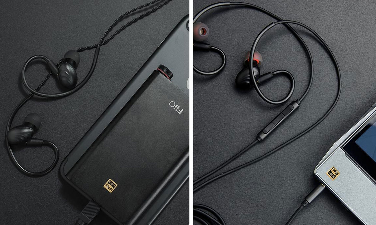 Słuchawki z mikrofonem FiiO F9RED