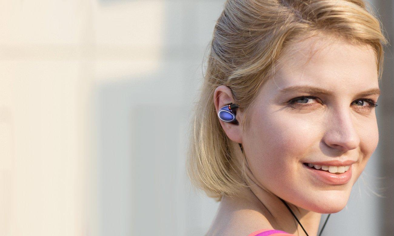 Słuchawki z mikrofonem FiiO FH1BLK