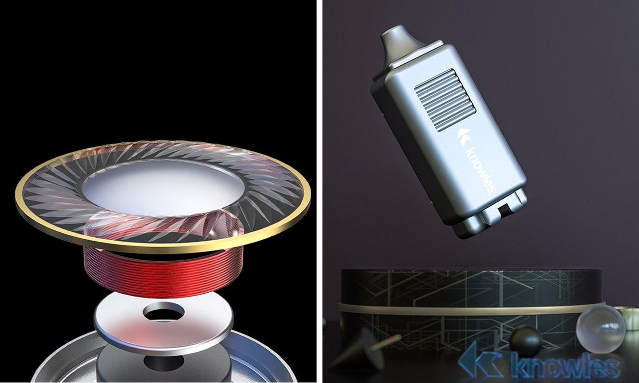 Innowacyjna budowa słuchawek dokanałowych FiiO FH1S