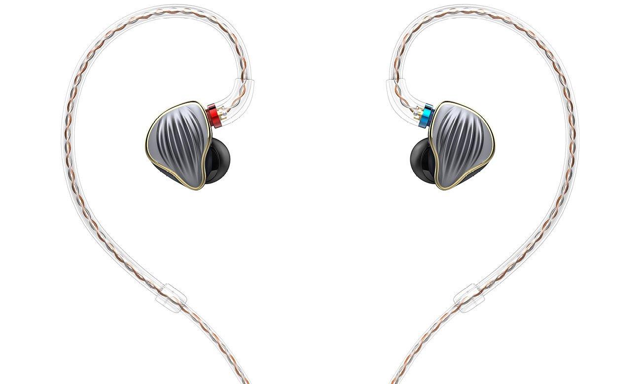 Słuchawki dokanałowe FiiO FH5 tytanium