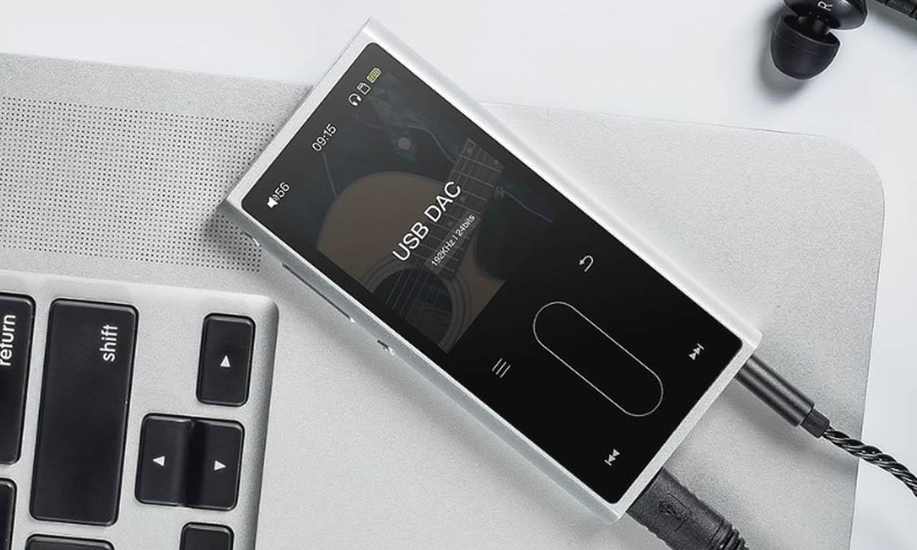 FiiO M3K jako zewnętrzna karta dźwiękowa DAC USB