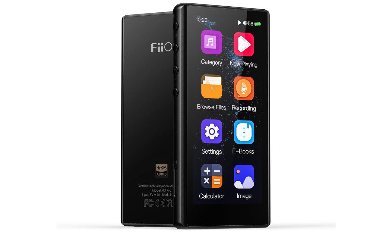 Odtwarzacz przenośny Hi-Res Audio FiiO M3 Pro czarny