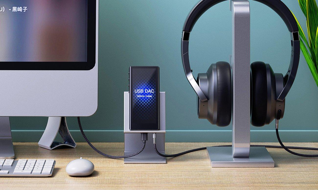 FiiO M3 Pro jako zewnętrzna karta dźwiękowa DAC USB
