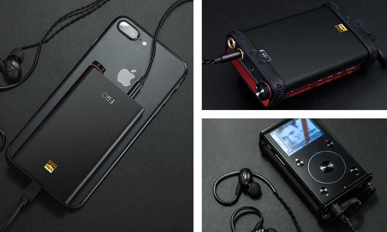 FiiO Q1 MKII współpraca z innymi urządzeniami
