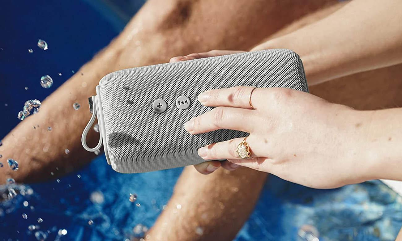 Wodoodporny Głośnik Bluetooth Fresh N Rebel Rockbox Bold M Ice Grey