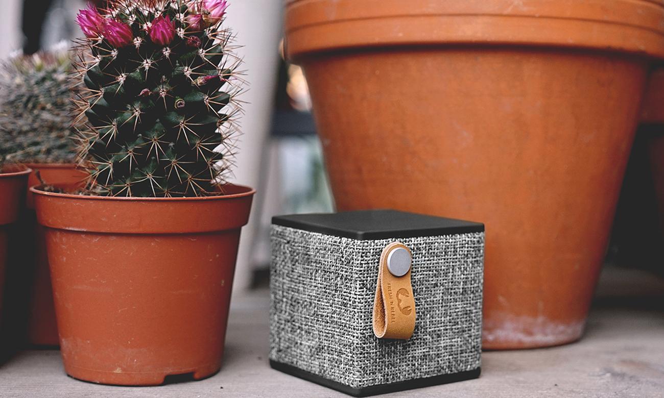 Głośnik bezprzewodowy Rockbox Cube Fabriq Edition czarny 1RB1000CC