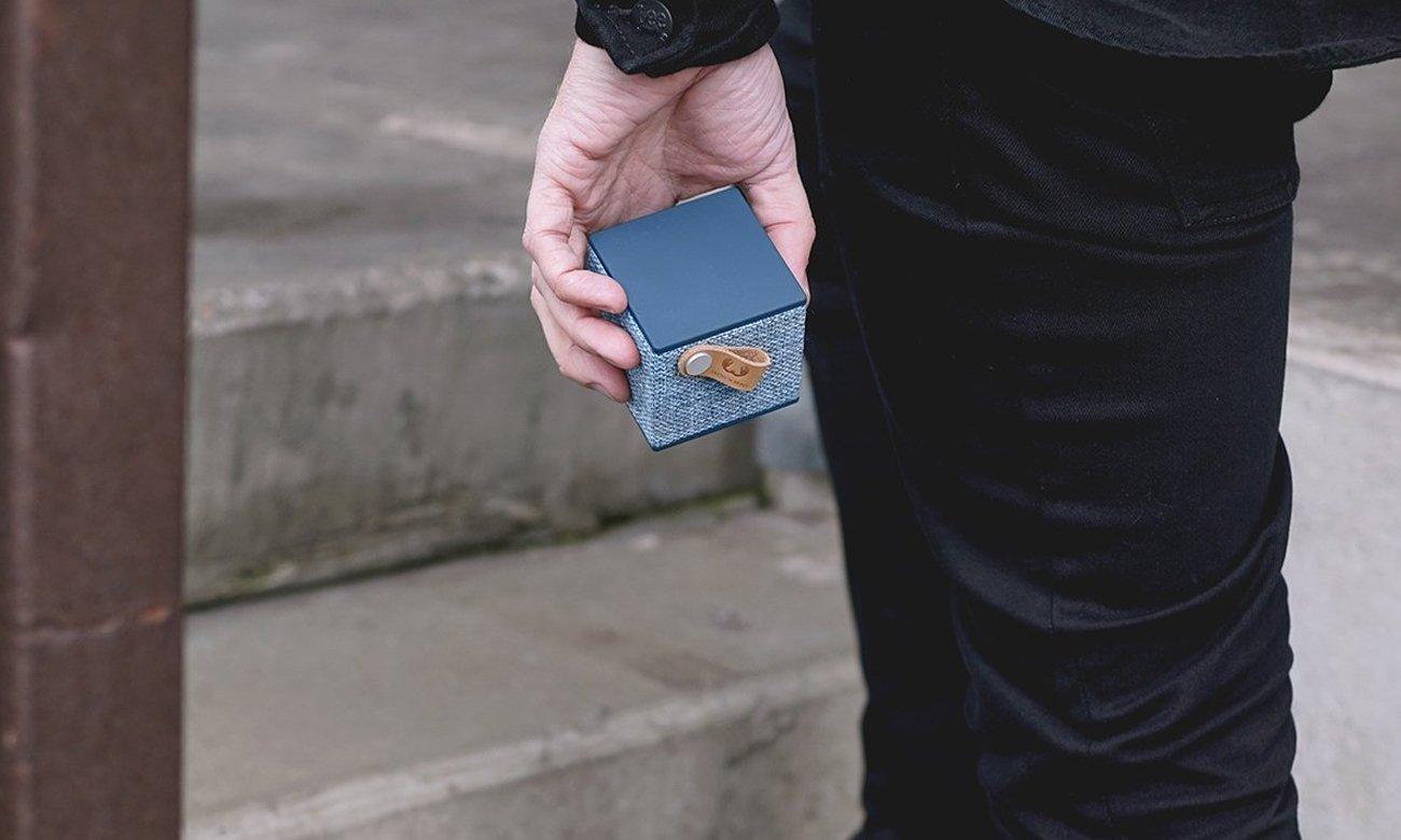 Głośnik bezprzewodowy Rockbox Cube Fabriq Edition niebieski 1RB1000IN