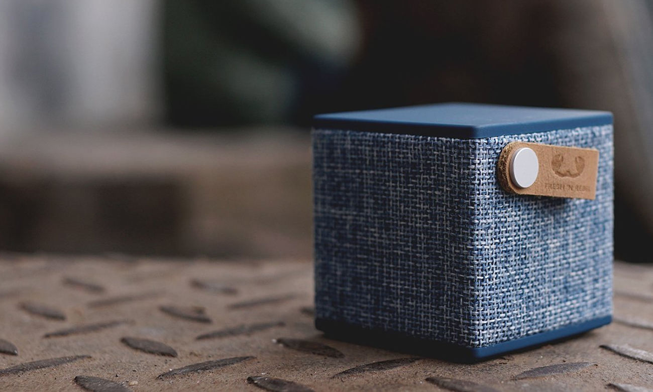 Głośnik Bluetooth Fresh N Rebel Indigo 1RB1000IN niebieski