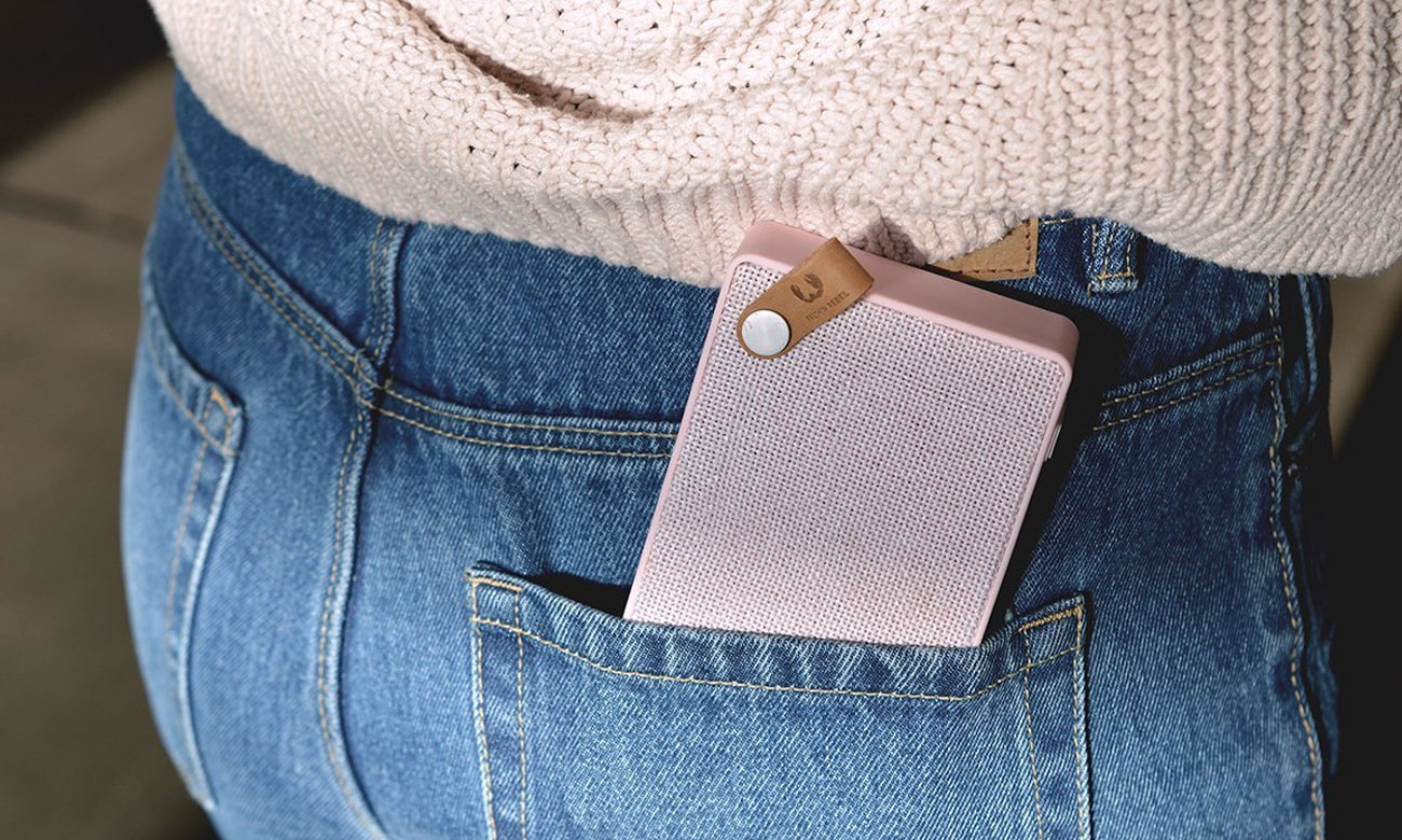 Różowy głośnik Bluetooth dla dziewczyny Fresh N Rebel Cupcake 1RB2500CU