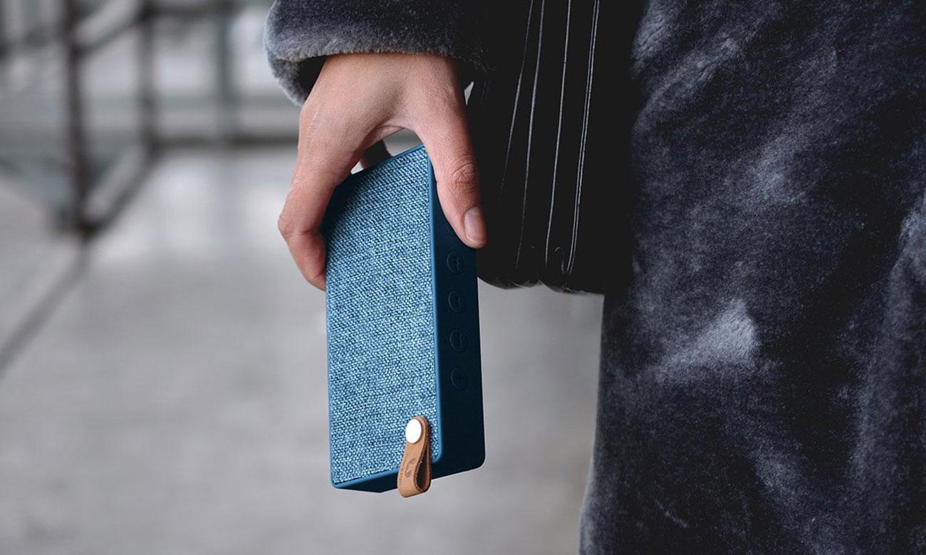 Głośnik bezprzewodowy Rockbox Slice Fabriq Edition niebieski 1RB2500IN