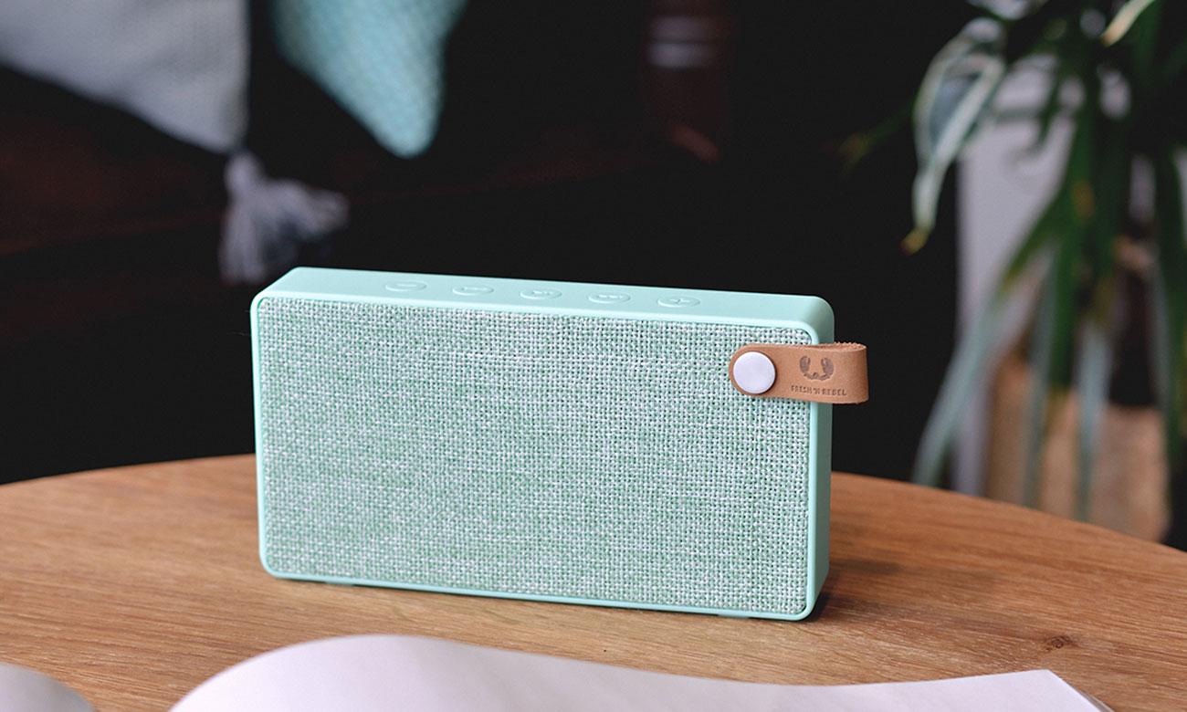Głośnik bezprzewodowy Rockbox Slice Fabriq Edition miętowy 1RB2500PT